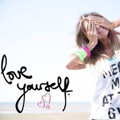 Love yourself first... and the rest will follow xx Follow us on Instagram @Lorna Riojas Riojas Jane #lornajane #myactiveyear