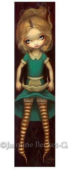 Alice Descending Jasmine Becket-Griffith