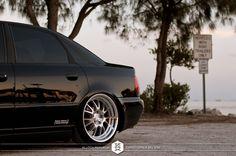 B5 Audi A4 on Klutch SL14 Wheels. | Photo by Klutch Republik.