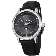 Maurice Lacroix Men's LC6068-SS001331 Les Classiqu Grey Moon Phase Dial Watch Maurice Lacroix. $2264.99. Water-resistant to 30 M (99 feet). Swiss automatic movement. Date and moon phase. Sapphire crystal. Stainless steel case. Save 40% Off!