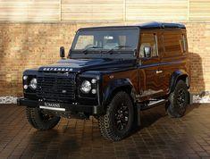 2016 (16) Land Rover Defender 90 Autobiography   Santorini Black