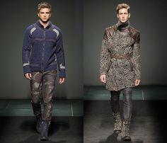 Custo Barcelona 2013-2014 Fall Winter Mens Runway Collection