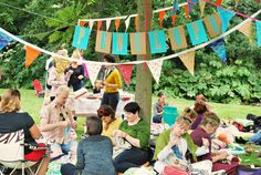 De Estraperlo: World Wide Knitting in Public Day, Amsterdam