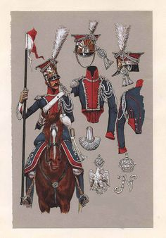 Szwoleżer 1 p.szw.gwardii cesarskiej