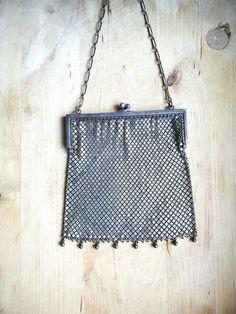 Art Deco Flappers Handbag Antique Vintage Original by stephmelart, $64.00