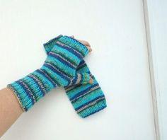 Rukavice+návleky+barevné+ručně+pletené+dámské+rukavice+návleky+teplé+z+nekousavé+příze+příjemný+materiál+na+každé+je+trochu+jinak+přec…