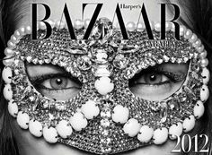 The Harper's Bazaar Arabia 2012 Calendar Sparkles and Shines trendhunter.com