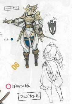 Fire Emblem: Awakening Concepts - Falcon Knight