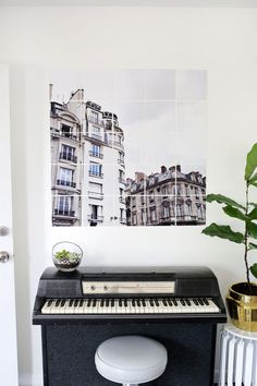 Oversized Tiled Photo Art from A Beautiful Mess