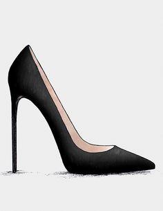 ● The Black & Blue - Collection Crazy Shoes, Me Too Shoes, Yellow Shoes Womens, Shoe Boots, Shoes Heels, Pumps, Shoe Sketches, Latest Shoe Trends, Shoe Art