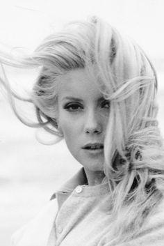 Catherine Deneuve photographed by Franco Pinna, 1963.