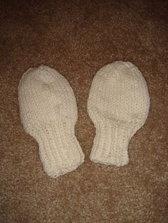 Pattern - Wee Baby Mitts
