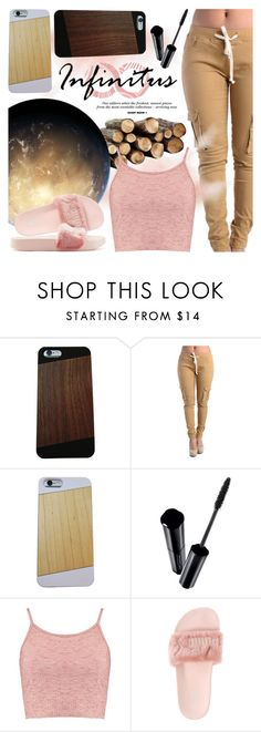 """""""Infinituscases"""" by vn1ta ❤ liked on Polyvore featuring Shiseido, Boohoo and Puma"""