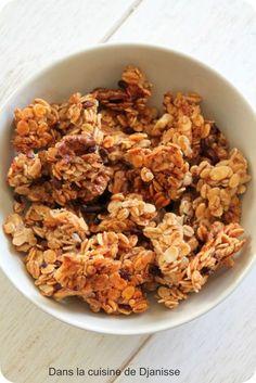 Granola bananes Plus (Paleo Granola Cereal) Healthy Brunch, Healthy Smoothies, Paleo Breakfast, Smoothie Recipes, Brunch Recipes, Vegan Recipes, Brunch Bar, Healthy Cereal, Healthy Food