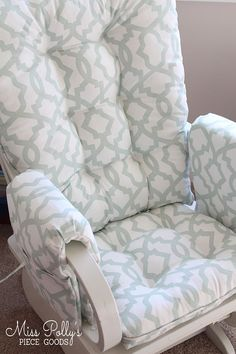 Chair Cushions/ Glider Cushions/Rocker Cushions/ Rocking Chair Cushions/ Glider Replacement Cushions WITH Glider Arm Rests Glider Replacement Cushions, Glider Rocker Cushions, Rocking Chair Nursery, Rocking Chair Cushions, Glider Chair, Chair Cushion Covers, Cushion Fabric, Wooden Adirondack Chairs, Outdoor Chairs