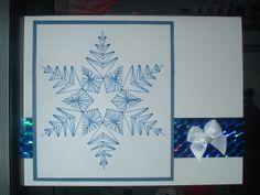Blue Snowflake by Jeana
