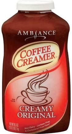 353oz Ambiance Coffee Creamer Creamy Original Non Dairy Lactose Free Pack of 1 ** Check this awesome product by going to the link at the image.