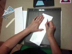 Dreieckbox mit Simply Scored Falzbrett von Stampin' Up!