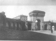 Porta Saragozza, interno, 1902 circa  http://www.comune.bologna.it/quartieresaragozza/servizi/152:12734/12735/#