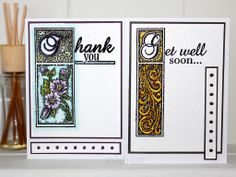 Morning Crafters!  Neil Burley has created a two for one make with this week's project!  Neil has used the new sentiments stamps available from CE to create this lovely projects to share with us.  Check out Neil's blog to see how to make them: http://perfectly4med.co.uk/2014/03/05/two-watercolour-effect-cards/