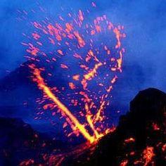 heart shaped lava
