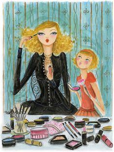 Mom's Makeup bella pilar