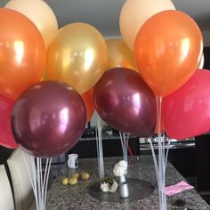 Pink Blush Balloons Blush and Gold Balloons Gold and Blush Balloon Decorations Party, Baby Shower Decorations, Balloon Party, Autumn Party Decorations, Balloon Crafts, Water Balloon, Balloon Ideas, Fall Decor, Baby In Pumpkin