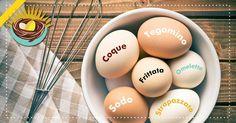 Le uova sono ottime per combattere la stanchezza e recuperare le forze. Quale modo di cucinarle preferite? #coque #tegamino #sode #frittata #strapazzate #omelette