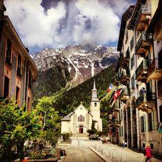 #Mont_Blanc, #Chamonix, #France. Get some great trip ideas and start planning your next trip! See More: RoutePerfect.com