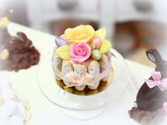 The Mini Food Blog: Happy Easter ~ Paris Miniatures