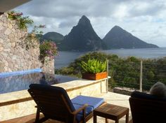 The Jade Mountain Resort, St. Lucia, is one of the 10 Best Resorts in the Caribbean, according to Conde Nast Traveler.
