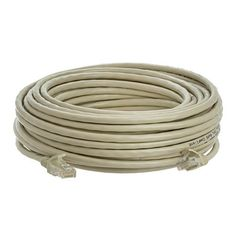 50ft Cat5 Gray Patch Cord Molded by Belkin. $9.83. The Belkin RJ-45 patch cable works in perfect conjunction with 100 Base-T and Gigabit Ethernet networks. Fifty micron gold plated connectors ensure a clean and error-free transmission.