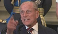 'Just take the f****** picture': Prince Philip gets impatient in an expletive ridden outburst during a photocall for the Battle of Britain | Daily Mail Online