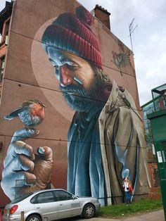 3d Street Art, Street Art Graffiti, Urban Street Art, Graffiti Murals, Murals Street Art, Amazing Street Art, Art Mural, Street Artists, Graffiti Artists