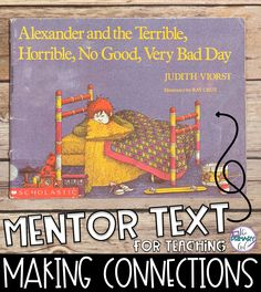 Here are 4 mentor texts that I like to use when teaching making connections. I've included ideas on how to use the texts, links to the books, & a FREEBIE! Reading Comprehension Skills, Reading Strategies, Reading Skills, Teaching Reading, Reading Lessons, Guided Reading, Making Connections Activities, Book Activities, Steam Activities