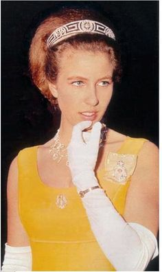 Princess Anne in Meander tiara