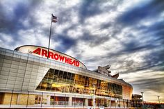 Arrowhead Stadium is home to the Kansas City Chiefs and Chiefs Kingdom. It is one of the most iconic stadiums in the NFL, and holds the world record for the loudest crowd roar at a sports stadium at dbA. Kansas City Chiefs Football, Football Stadiums, Kansas City Royals, Kc Football, American Football, Arlington Park, Arrowhead Stadium, Sports Stadium, Nfl Sports