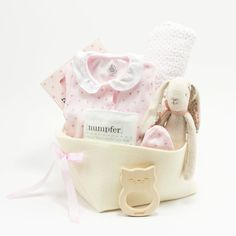 794385af9f6d Little Principessa Welcome Home Baby Basket – Bonjour Baby Baskets - Luxury  Baby Gifts Baby Baskets