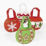 CHRISTMAS ORNAMENT TOTES HANDBAGS GIFT BAGS (1 DOZEN) - BULK - http://tonysbooks.com/2014/12/11/christmas-ornament-totes-handbags-gift-bags-1-dozen-bulk/
