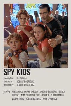Iconic Movie Posters, Minimal Movie Posters, Iconic Movies, Film Posters, Film Poster Design, Spy Kids, Movie Prints, Movie Covers, Alternative Movie Posters