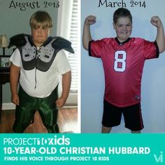 Tackling  Talking: 10-Year-Old Christian Hubbard Speaks Up | ViSalus BlogViSalus Blog