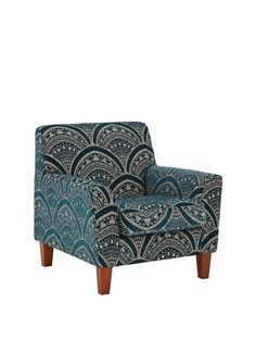 Gatsby Accent Chair in a Textured Pattern Chenille Fabric This British-made accent chair is a key finishing piece from the Gatsby seating range. Perfect for complementing with your existing Gatsby sofas, corner groups or armchair (available separately), it can also be used to create a stunning reading area in your home. Chenille fabric flaunts an elegant textured pattern that contrasts wonderfully with the wooden feetChoose black and charcoal, chocolate and cream, chocolate and mink or grey…