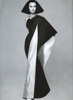 Gloria Vanderbilt in Mainbocher by Richard Avedon