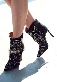 studded boots / isabel marant