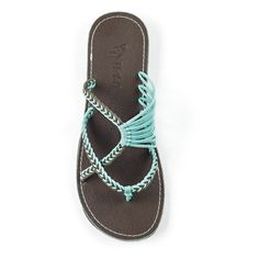 085961673 Oceanside Turquoise – Plaka Sandals Beach Sandals