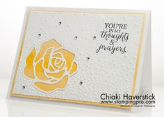 March 2016 Stamp-A-Stack #2: Daffodil Wash Rose