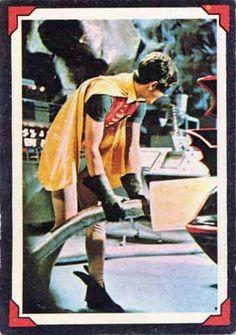 Batman-1966-Riddler-Back-A&BC-Gum-04-Rarin'-to-Go-Front Batman Riddler, Batman 1966, Batman And Superman, Batman Tv Show, Batman Tv Series, Riddler Riddles, Batman Pictures, Burt Ward, Batmobile