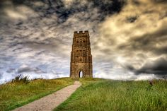 Glastonbury Tor - still can't believe I made the climb, some days... :)