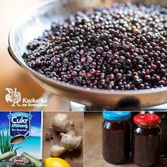 Kuchařka ze Svatojánu: BEZINKOVÝ SIRUP Marmelade Recipe, Pickles, Lemonade, Acai Bowl, Smoothies, Benefit, Herbalism, Cereal, Food And Drink