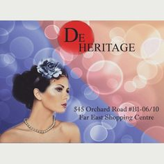 Hurry! Visit De Heritage at 545 Orchard Road B1-06/10 Far East Shopping Centre S(238882) today! Cut/Color/Treatment from $128 onwards await you! 29 - 31 December 2014. 3 days only! Exclusively at De Heritage  Call 6235 5188.